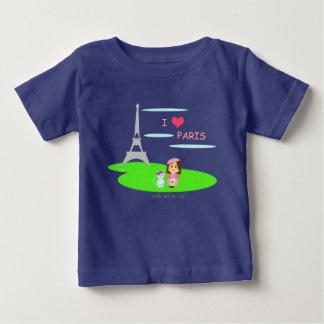 I love Paris Baby T-Shirt