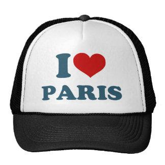 I Love Paris Cap