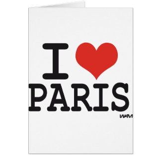 I love Paris Card