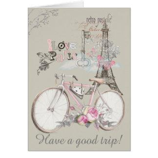 I Love Paris. Have a Good Trip! Card