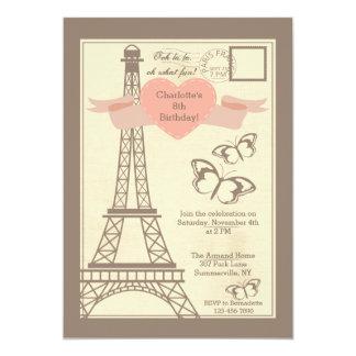I Love Paris Invitation