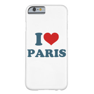 I Love Paris iPhone 6/6s Barely There iPhone 6 Case