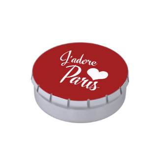I Love Paris - J'adore Paris! Jelly Belly Tin