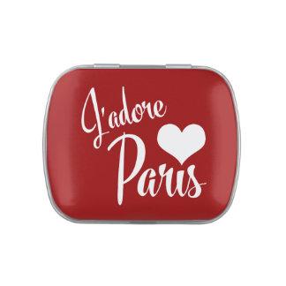 I Love Paris - J'adore Paris! Jelly Belly Candy Tins