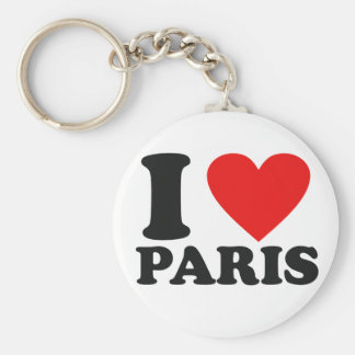 I love Paris Key Ring