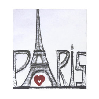 I love Paris Notepad