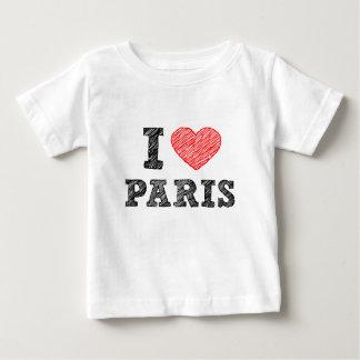 I Love Paris Sketch Shirt