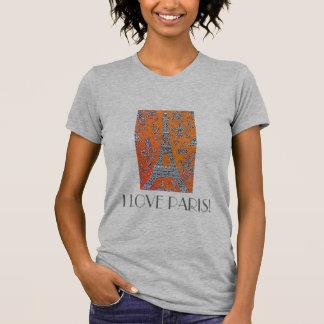 I LOVE PARIS Vintage travel T-Shirt