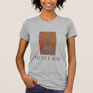 I LOVE PARIS Vintage travel T-Shirt