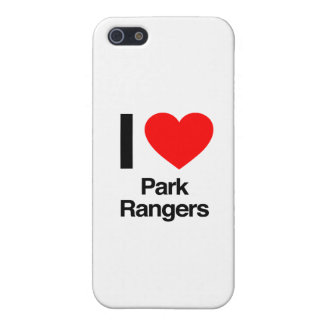 i love park rangers iPhone 5 cover