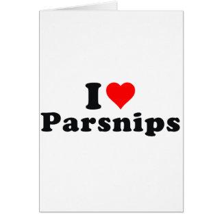 I love parsnips! card