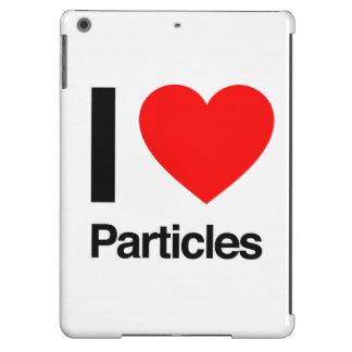 i love particles iPad air case