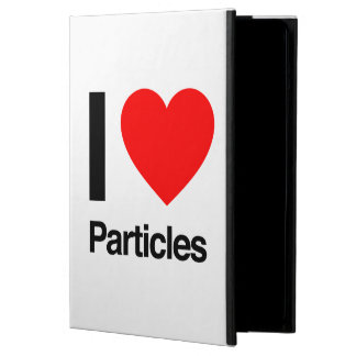 i love particles iPad air covers