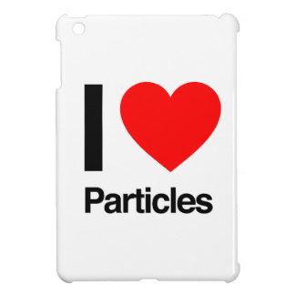 i love particles iPad mini cover