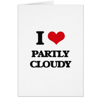 I love Partly Cloudy Cards
