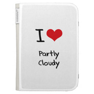 I love Partly Cloudy Kindle Keyboard Covers