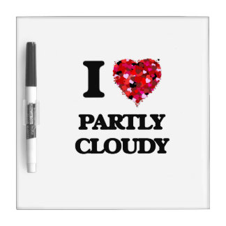 I love Partly Cloudy Dry Erase Whiteboard