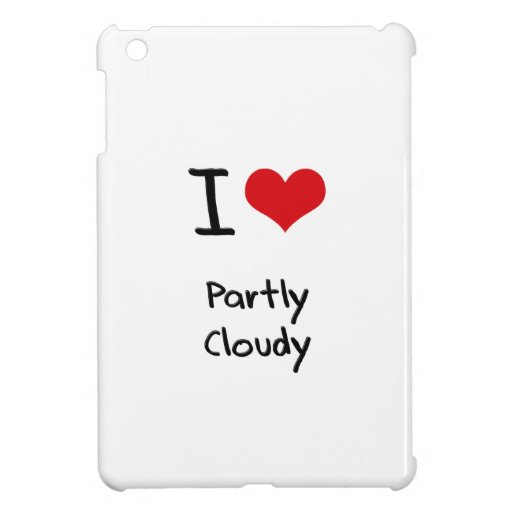 I love Partly Cloudy Case For The iPad Mini