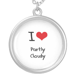 I love Partly Cloudy Pendants
