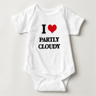 I love Partly Cloudy T-shirts