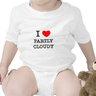 I Love Partly Cloudy Tshirt
