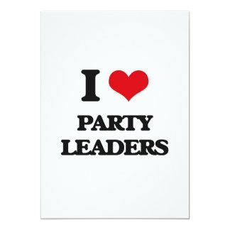 I love Party Leaders Custom Invitations