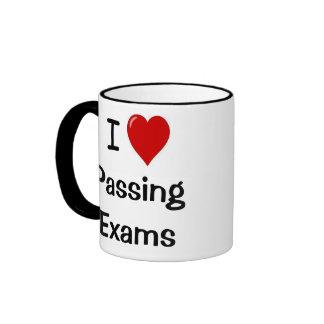 I Love Passing Exams I Love Passing Exams! Ringer Mug