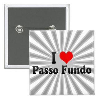 I Love Passo Fundo, Brazil Pin