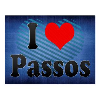 I Love Passos, Brazil. Eu Amo O Passos, Brazil Postcard