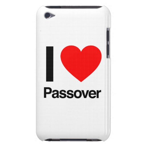 i love passover barely there iPod covers