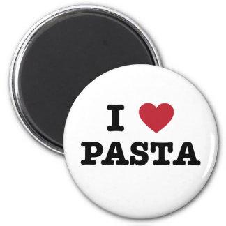 I Love Pasta Refrigerator Magnets