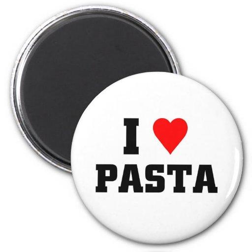 I love Pasta Fridge Magnet
