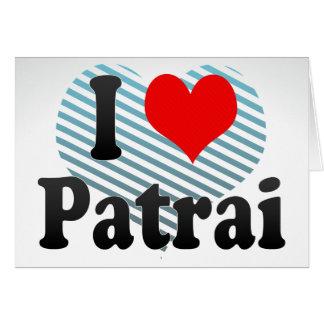 I Love Patrai Greece Cards