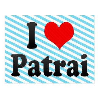 I Love Patrai, Greece Postcard