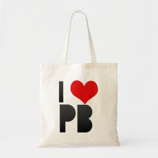 I Love PB Tote Bag