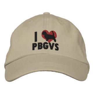 I Love PBGVs Embroidered Hat