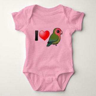I Love Peach-faced Lovebirds T Shirts