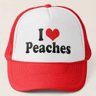 I Love Peaches Trucker Hat