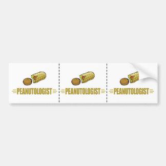 I Love Peanuts Bumper Sticker
