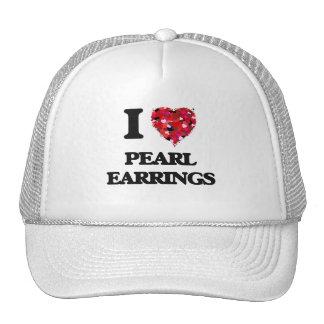 I love Pearl Earrings Cap