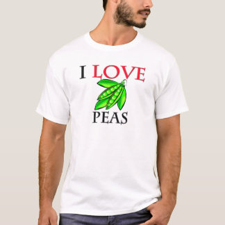 I Love Peas T-Shirt