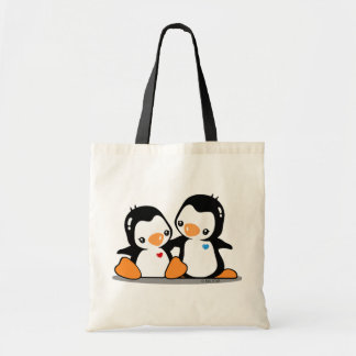 I Love Penguins Budget Tote
