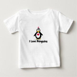I Love Penguins Tee Shirts