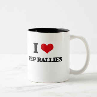 I Love Pep Rallies Coffee Mugs