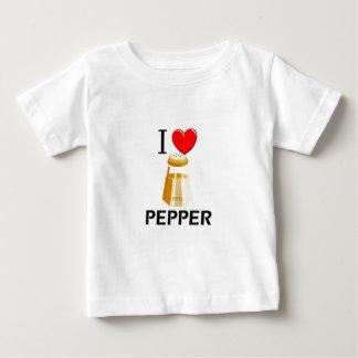 I Love Pepper Baby T-Shirt