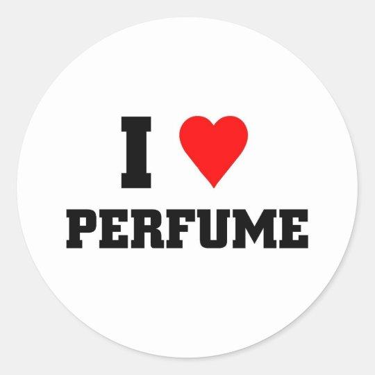I love Perfume Classic Round Sticker