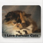 I Love Persian Cats Mouse Mat
