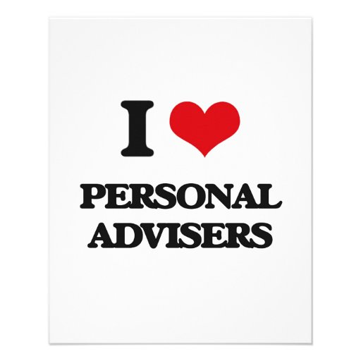 I love Personal Advisers Flyer