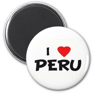I love peru stuff magnet