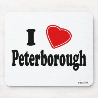 I Love Peterborough Mouse Pad